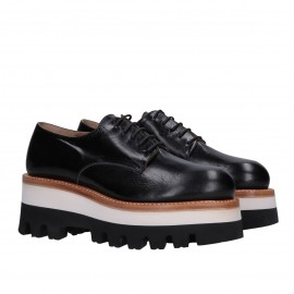 Wedge Derby Shoes