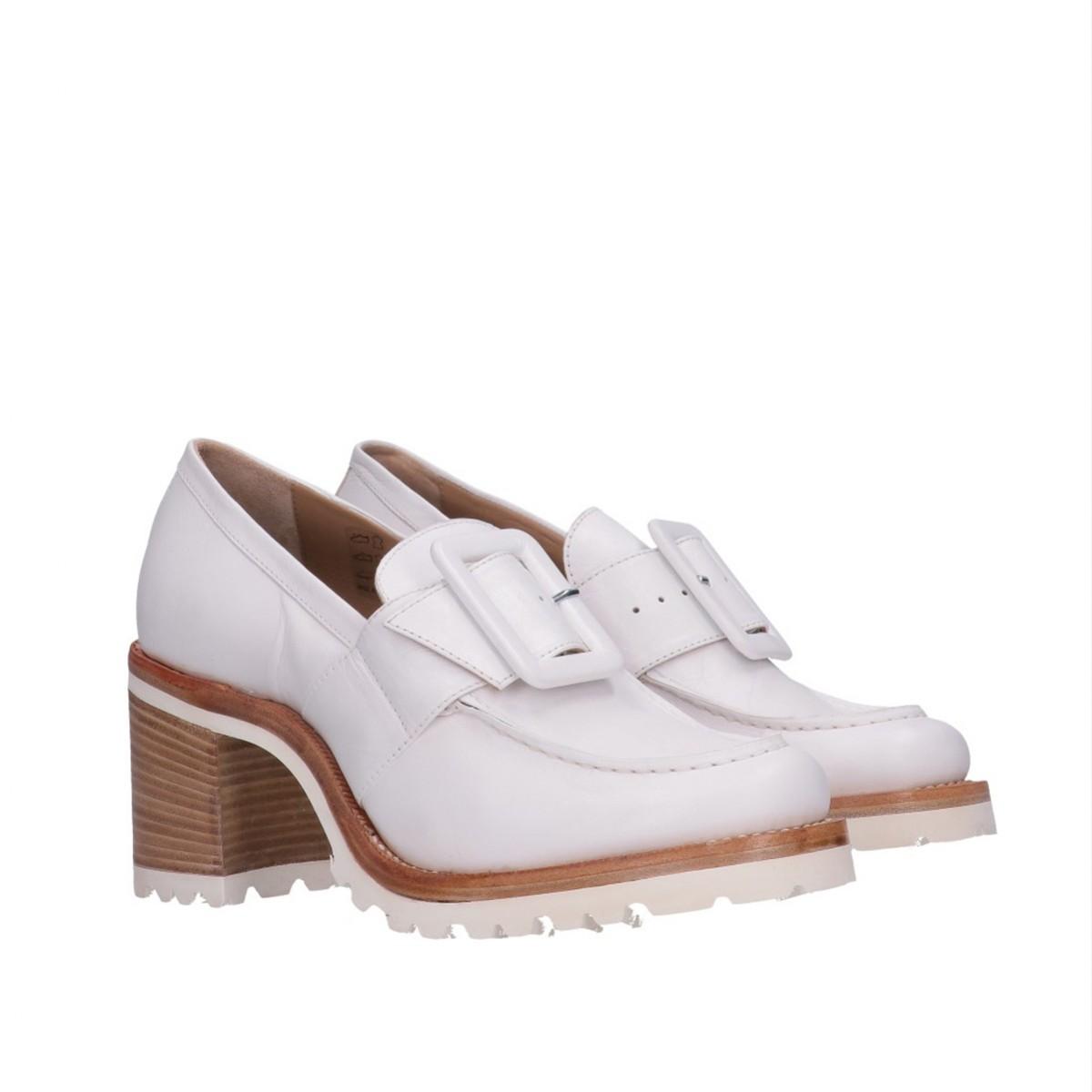 Buckle Loafer High Heel