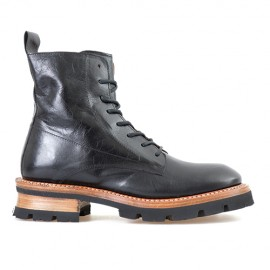 CAPPELLETTI MID LACE- UP BOOTS